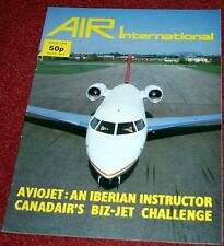 Air International Magazine 1978 August Spantax,Hs123,Aviojet,Challenger,P-38