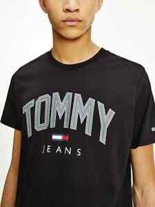 Tommy Hilfiger Jeans Men's Shadow Logo Crew Neck T-shirt