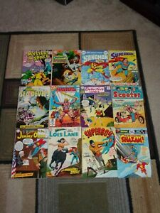GIANT SILVER / BRONZE  AGE DC 12 BOOK LOT (MIXED TITLES)