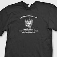 Nobody Needs An AR15? Funny Gun Rights T-shirt 2nd Amendment Tee Shirt