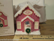 Hallmark 2011 Welcome Christmas! Special Edition Exclusive Vip Gift Repaint
