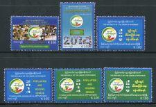Myanmar Burma 2014 Volkszählung Zensus Census 426-431 Postfrisch MNH