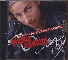 GIANNA NANNINI - America ed altri successi  - CD 2006 SIGILLATO SEALED