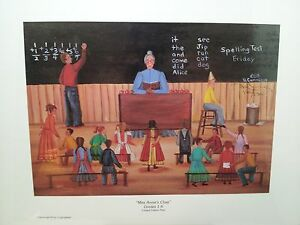 BETH CUMMINGS LITHOGRAPH MISS ANNIES CLASS 120 OF 1500 1983  NEW SEALED SIGNED