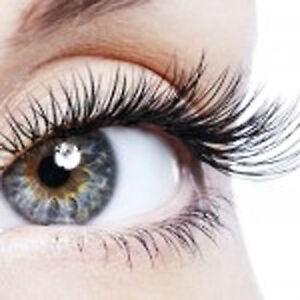 10 Pairs Handmade Natural Fake False Eyelashes Jet Black
