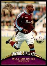 Topps Premier Gold 2001 - West Ham Trevor Sinclair No.122