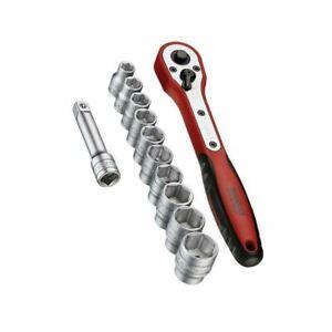 "Teng Tools M3812N1 12 Piece 3/8"" Basic Drive Socket Set"