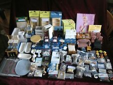 Doll House Furniture and Accessories Nos bathtub sink stove fireplace and More
