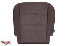 2013-2018 Dodge Ram SLT Power Wagon-Driver Side Bottom Cloth Seat Cover Burgundy