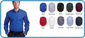 Kustom Kit - KK105 - Mens Corporate Pinpoint Oxford Shirt Long Sleeve