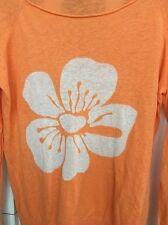 Euc Seaton Revolve Clothing Intarsia Tangerine Sweater Small Flawless