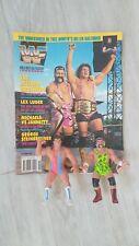 WWF WCW  Steiner Hasbro Vintage Wrestling Figure 1991 FREE WF Magazine 1990 WWE