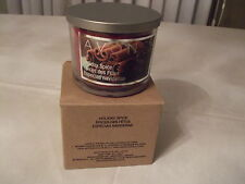 AVON 3 WICK CANDLE HOLIDAY SPICE- NEW
