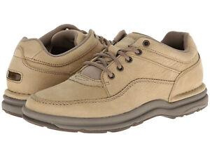 Rockport Men's World Tour Classic Walking Shoe Sand Nubuck Medium Width (Select)