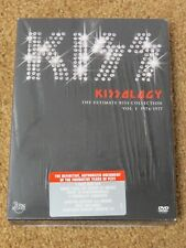 KISS KISSOLOGY I DVD + NYC MSG 1977 BONUS FACTORY SEALED
