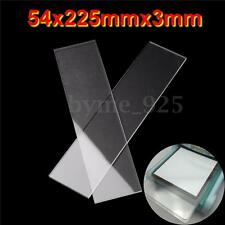 2pcs 54x225mm Generic Acrylic Clear Cutting Plates Thick 3mm for Sizzix Big Shot
