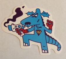 Pegatina/sticker/autocollant/Aufkleber/Adesivo/Etiket: Dog Dragon Gun Diamond