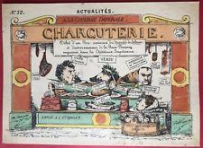 CHARCUTERIE ACTUALITE 1870 SIGNE GROGNET