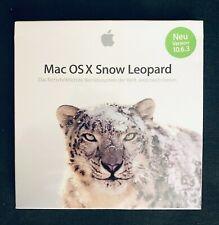 Apple Mac OS X 10.6 Snow Leopard Lizenz + Medien Vollversion für Intel Mac NEU