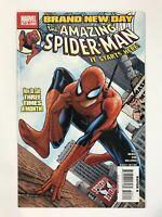 AMAZING SPIDER-MAN #546 (2008) | 1ST FIRST MR. NEGATIVE; JACKPOT