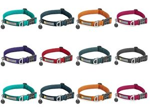 Dog Puppy Collar Adjustable Soft Durable Webbing Ruffwear Front Range Collection