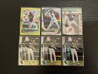 2020 Topps Chrome Tim Anderson 6 Card Lot Refractor Optic Stadium Club Silver