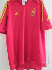 España 2004-2006 Hogar Camiseta De Fútbol Adulto Tamaño Extra Grande/40449