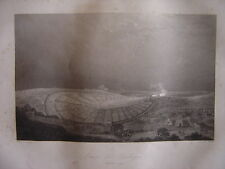 Grande gravure du CAMP DE BOULOGNE SUR MER  Napoléon Bonaparte Juillet 1804