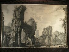 "Original Piranesi Etching "" Antonine Baths """