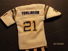 2005 UD Mini Jersey Collection Replica Jerseys White #LT LaDainian Tomlinson