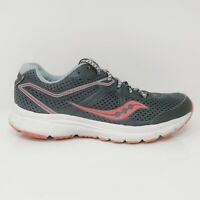 Saucony Womens Grid Cohesion 11 S10420-2 Gray Red Pink Running Shoes Size 7.5
