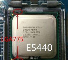 Intel Socket 775 Xeon E5440 e5440 Quad-Core 2.83GHz 12MB 1333MHz No Need Adapter