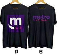 T-Mobile Metro by T Mobile Telecommunication T-shirt Cotton 100% S-3XL Free Ship