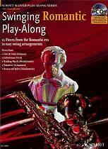 SWINGING ROMANTIC Play Along Alto Saxophone Bk CD