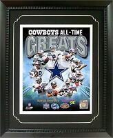 11X14 Deluxe Frame - Dallas Cowboys Greats