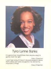 TYRA BANKS' SIGNED 1991 SENIOR HIGH SCHOOL YEARBOOK AUTOGRAPHED + BONUSES