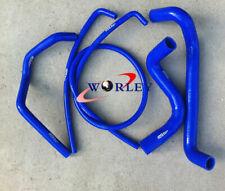 Silicone coolant hose for HOLDEN COMMODORE VZ STATESMAN WL 5.7L 6.0L HSV V8 BLUE