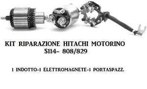 Repair Kit Starter Motor hitachi Vauxhall S114-808/829 S114-869