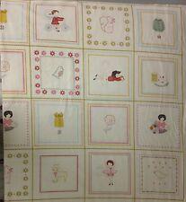 Moda Aneela Hoey Sew Stitchy Panel Fabric 18540-11