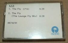More details for u2 - the fly  very rare 1991 promo cassette tape
