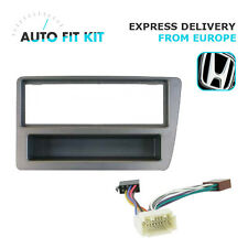 Honda Civic 2001 -> 2005 1 Din Single DIN Fascia Radio Stereo Replacement Kit