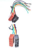 Autoradio ISO Adapter auf Universal  Strom Lautsprecher  DIN Kabelbaum 16 Pin