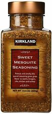 Kirkland Signature Sweet Mesquite Seasoning Rub 19.6 Oz Rub Spice BBQ Steak Ribs