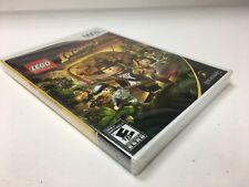 Indiana Jones Lego Wii SEALED Nintendo