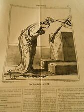 HD 3286 DAUMIER 1868 A winner First price of Chassepotisme