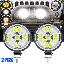 2x 3inch Led Work Light Bar 63w 4wd Offroad Spot Pods Fog Truck Suv Driving Lamp