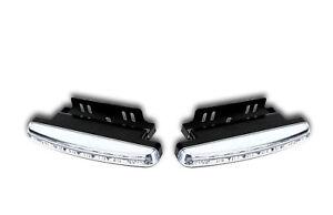 2 x 12V FRONT SMD LED DRL E MARKED LIGHTS CAR CAMPER MINIBUS VAN PICKUP 4x4 SUV