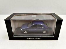 1:43..Minichamps--Peugeot 306 4-Door 1996 blue metallic in OVP / 3 B 449