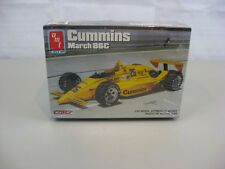 Amt Ertl Cummins March 86C Indy Car 1/25 Scale Model Kit-New & Factory Sealed