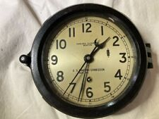 Chelsea 12E (Us maritime Comm.) Clock, 1940-1944, Very Good Condition!